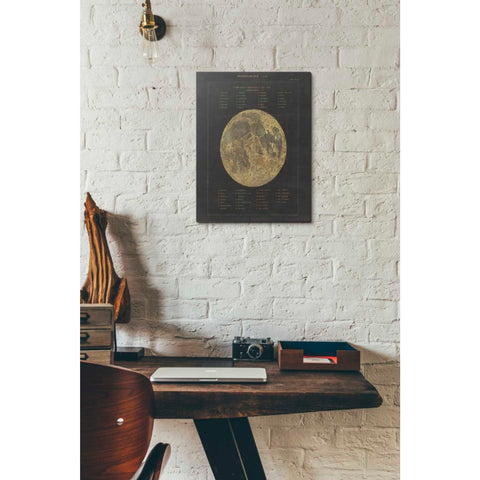 Image of 'Astronomical Chart I' by Wild Apple Portfolio, Giclee Canvas Wall Art