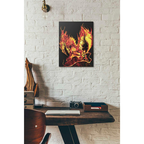 "Image of ""Dragon Fire"" by Michael Stewart, Giclee Canvas Wall Art"