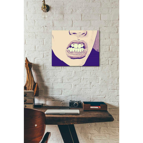 Image of 'GRRR' by Giuseppe Cristiano, Giclee Canvas Wall Art