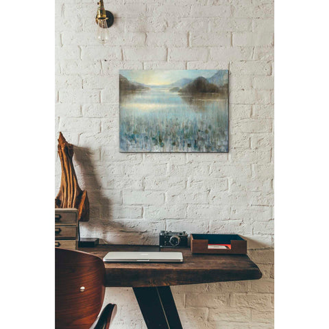 Image of 'Through the Mist' by Danhui Nai, Canvas Wall Art,12 x 16