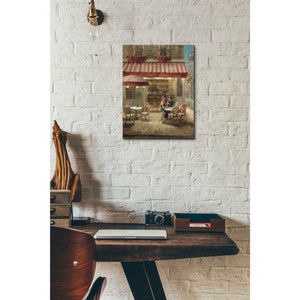 'Paris Cafe II Crop' by Danhui Nai, Giclee Canvas Wall Art