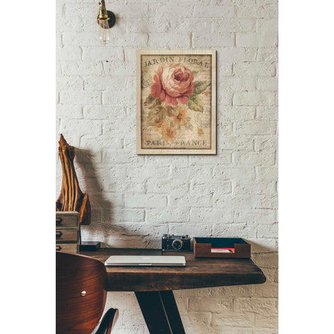 Image of 'Parisian Flowers II' by Danhui Nai, Giclee Canvas Wall Art