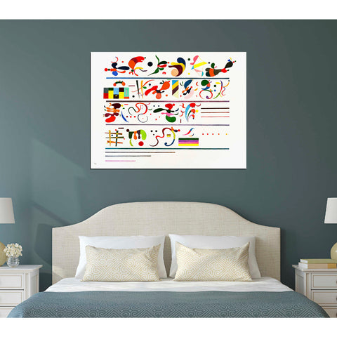 'Succession' by Wassily Kandinsky Canvas Wall Art,12 x 16