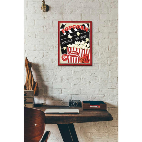 'At the Movies I' by Veronique Charron, Giclee Canvas Wall Art