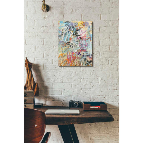 'Graffiti Love' by Danhui Nai, Giclee Canvas Wall Art