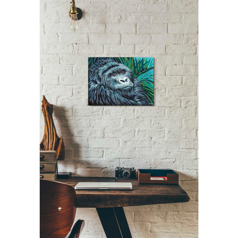 'Jungle Monkey II' by Carolee Vitaletti Giclee Canvas Wall Art