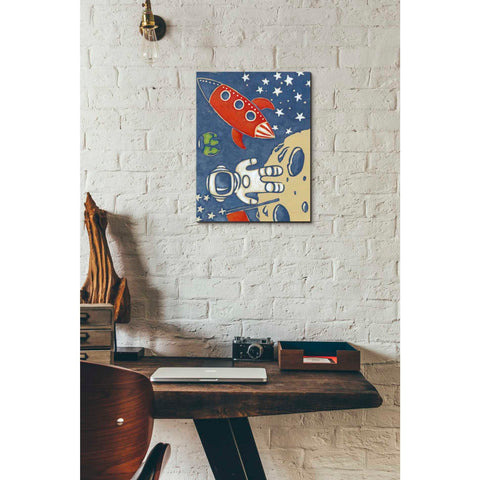 'Space Explorer I' by Chariklia Zarris Giclee Canvas Wall Art