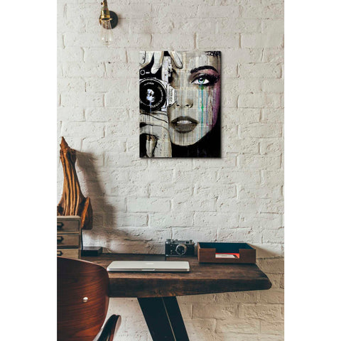 Image of 'Zoom' by Loui Jover, Canvas Wall Art,12 x 16