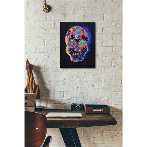 'Colorful Skull' by Irena Orlov, Canvas Wall Art,12 x 16