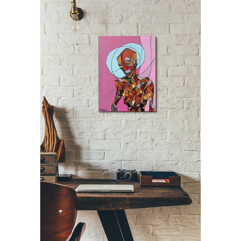 "Image of ""Segmented Man"" by Craig Snodgrass, Giclee Canvas Wall Art"