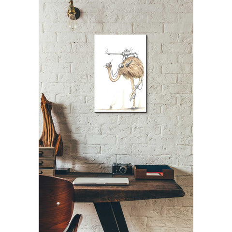 """War Emu"" by Craig Snodgrass, Giclee Canvas Wall Art"