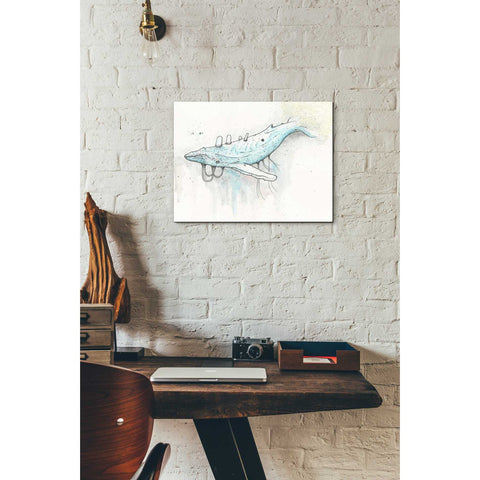 """Whale"" by Craig Snodgrass, Giclee Canvas Wall Art"