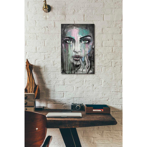Image of 'New Muse' by Loui Jover, Canvas Wall Art,12 x 18