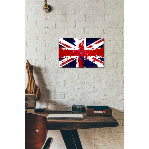 Image of 'United Kingdom' Canvas Wall Art,12 x 18