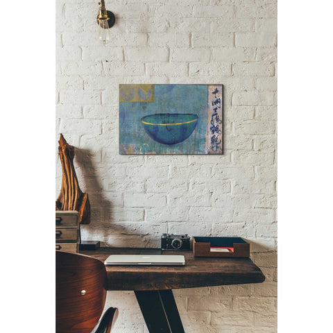 Image of 'Blue Bowl' by Elena Ray Canvas Wall Art,12 x 18