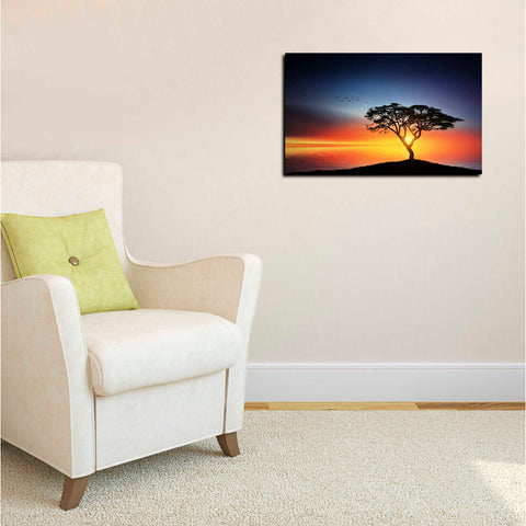 Image of 'The Soft Twilight' Canvas Wall Art,12 x 18