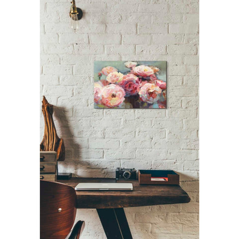 'Wild Roses' by Marilyn Hageman, Giclee Canvas Wall Art