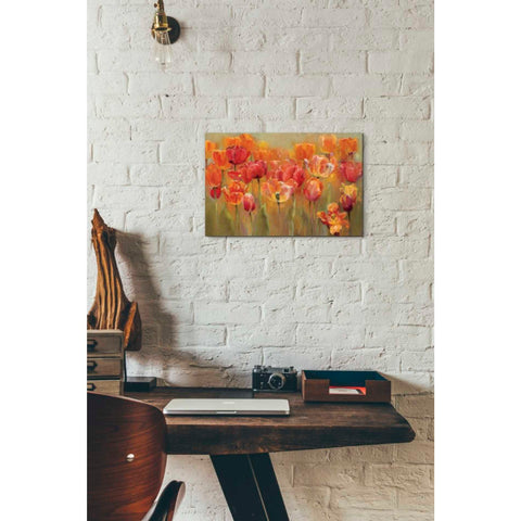'Tulips in the Midst III' by Marilyn Hageman, Giclee Canvas Wall Art