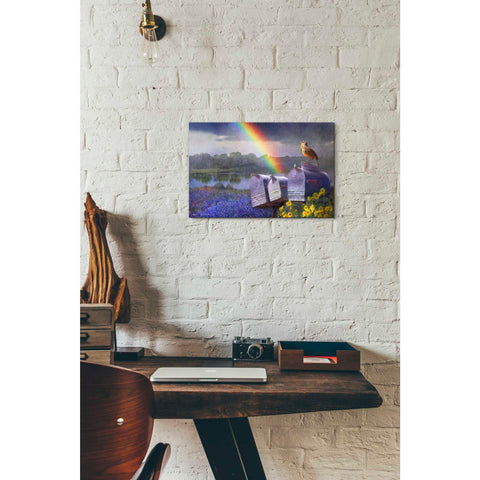 Image of 'Mailboxes' by Chris Vest, Giclee Canvas Wall Art