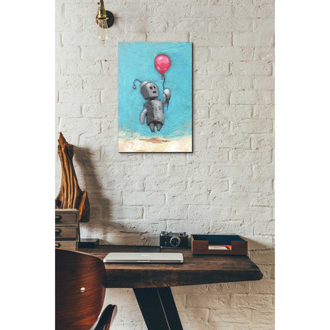 Image of 'Bot Balloon' by Craig Snodgrass, Canvas Wall Art,12 x 18