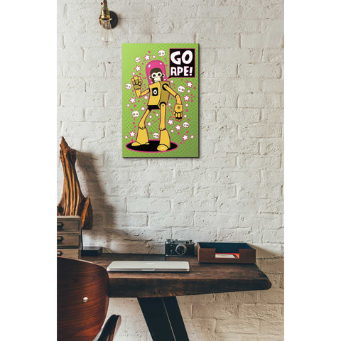 "Image of ""Go Ape"" by Craig Snodgrass, Giclee Canvas Wall Art"