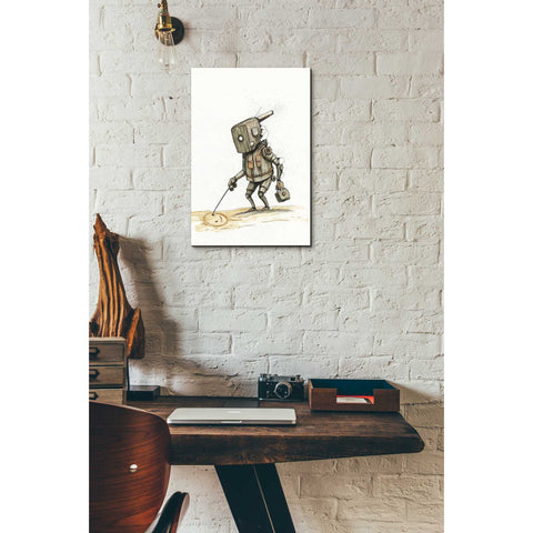 "Image of ""Ink Bot 3.0"" by Craig Snodgrass, Giclee Canvas Wall Art"