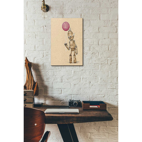 Image of 'Ink Bot Balloon' by Craig Snodgrass, Canvas Wall Art,12 x 18