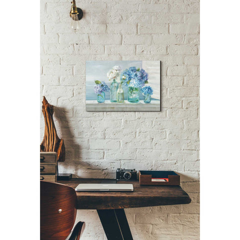 "Image of ""A Beautiful Day at the Beach"" by Danhui Nai, Giclee Canvas Wall Art"