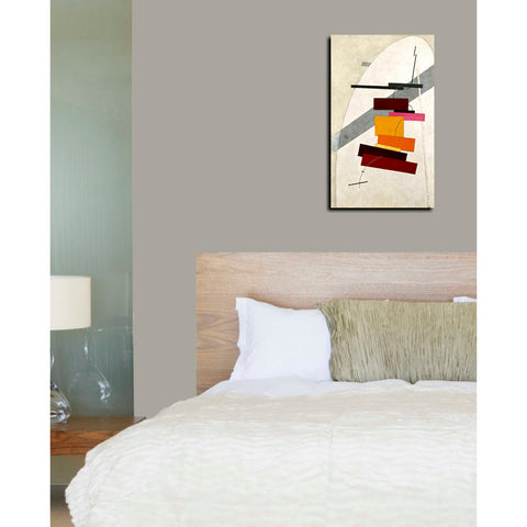 Image of 'Untitled' by El Lissitzky Canvas Wall Art,12 x 20