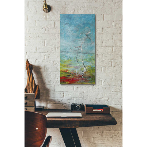 Image of 'The Golfer' by Samedin Asllani, Giclee Canvas Wall Art