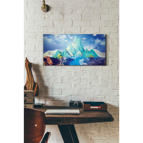 'Lonely Mountain' by Jonathan Lam, Giclee Canvas Wall Art