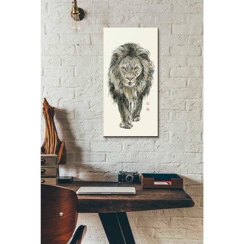 'Majestic King of the Jungle' by River Han, Giclee Canvas Wall Art