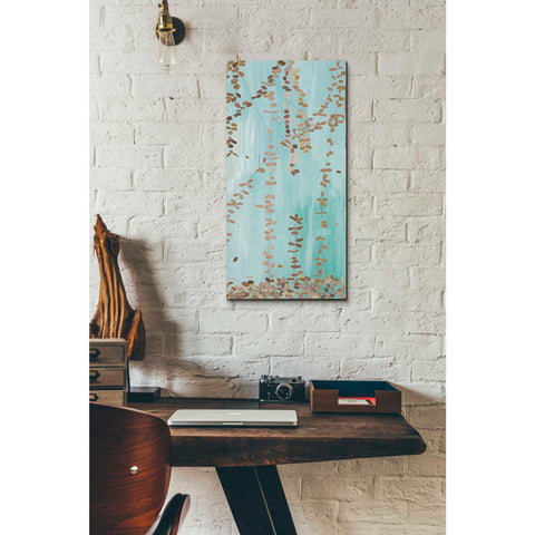 Image of 'Trailing Vines II Blue' by Candra Boggs, Giclee Canvas Wall Art