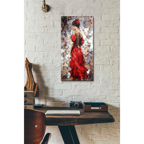 Image of 'Baile' by Alexander Gunin, Canvas Wall Art,12 x 24