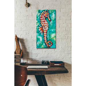 'Radiant Seahorse I' by Carolee Vitaletti Giclee Canvas Wall Art