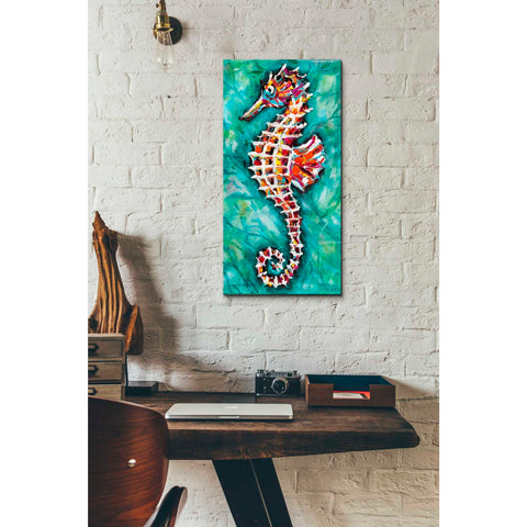 Image of 'Radiant Seahorse II' by Carolee Vitaletti Giclee Canvas Wall Art