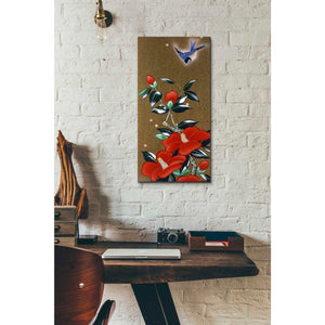 'Camellia R' by Zigen Tanabe, Giclee Canvas Wall Art