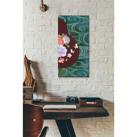Image of 'Running Water II' by Zigen Tanabe, Giclee Canvas Wall Art
