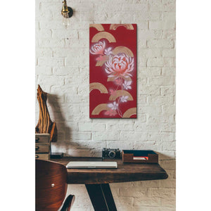 'Chrysanthemum II' by Zigen Tanabe, Giclee Canvas Wall Art