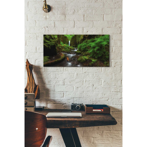 Image of 'Early Morning At The Grotto' by Darren White, Canvas Wall Art,12 x 24