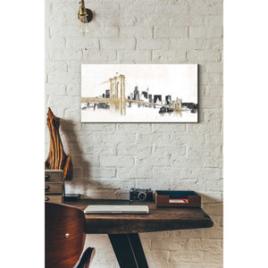 """Skyline Crossings"" by Avery Tillmon, Giclee Canvas Wall Art"
