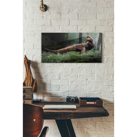 "Image of ""Carnotaurus"" Giclee Canvas Wall Art"