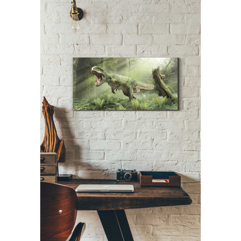 "Image of ""Giganotosaurus"" Giclee Canvas Wall Art"