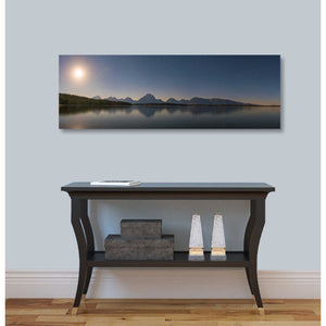 """Jackson Lake Moon"" by Darren White, Giclee Canvas Wall Art"