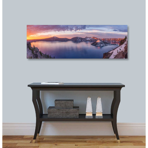 "Image of ""Volcanic Sunset"" by Darren White, Giclee Canvas Wall Art"