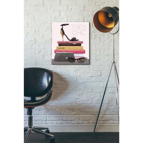 Image of 'Paris Style III Gold and Black' by Marco Fabiano, Giclee Canvas Wall Art