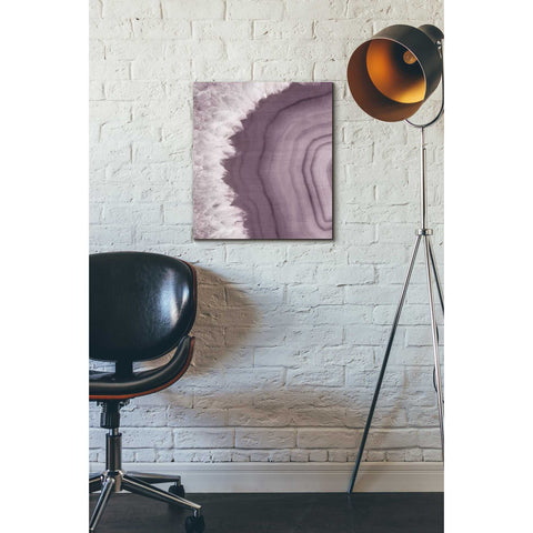 "Image of ""Agate Geode I PLUM"" by Wild Apple Portfolio, Giclee Canvas Wall Art"