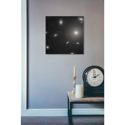 'NGC 4874' Hubble Space Telescope Giclee Canvas Wall Art