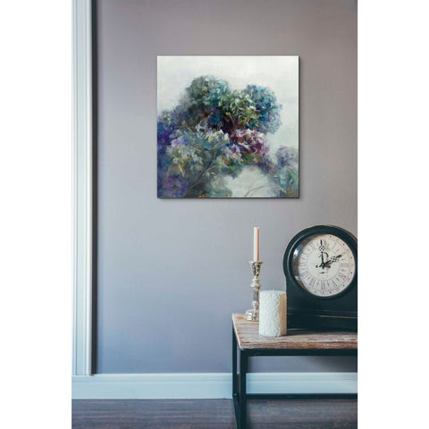 Image of 'Abstract Hydrangea' by Danhui Nai, Canvas Wall Art,18 x 18