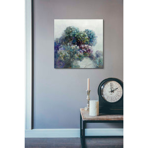 'Abstract Hydrangea' by Danhui Nai, Canvas Wall Art,18 x 18